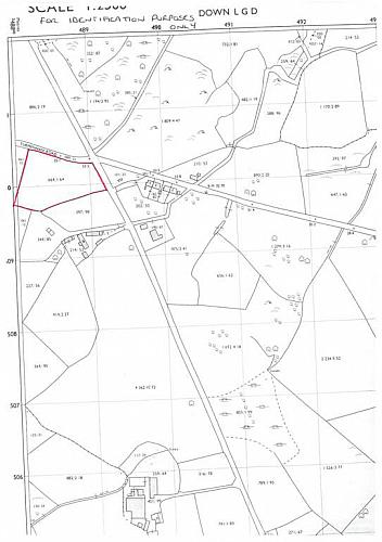 c.1.69 acres Agricultural Land  Turmennan Road, Downpatrick