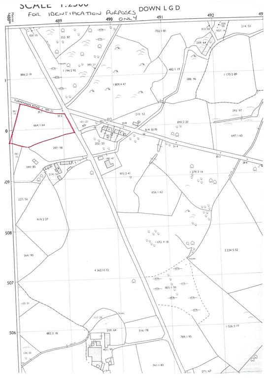 c.1.69 acres Agricultural Land  Turmennan Road