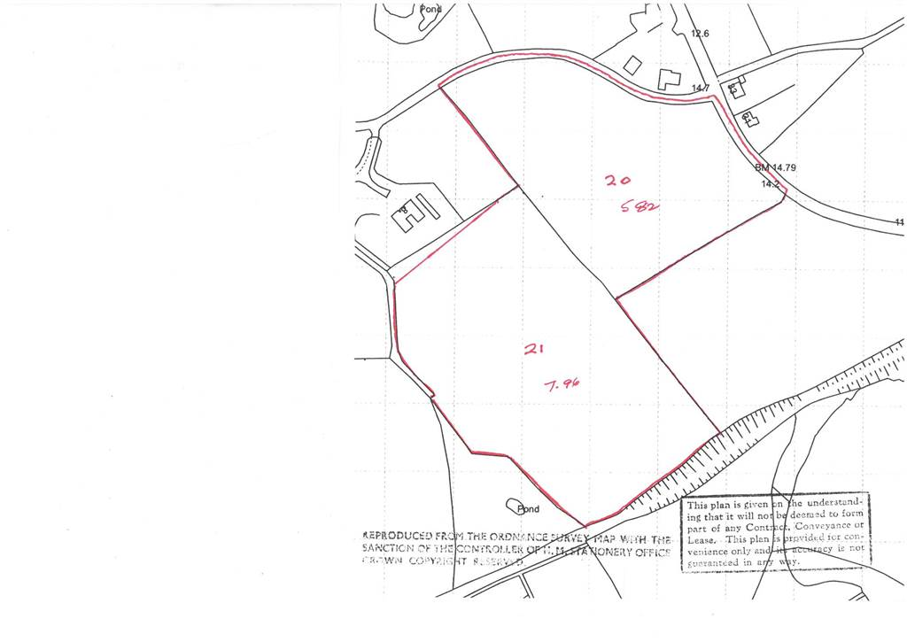 13.5 Acres of Agricultural Land  Drumcullan and Ballydonety Road